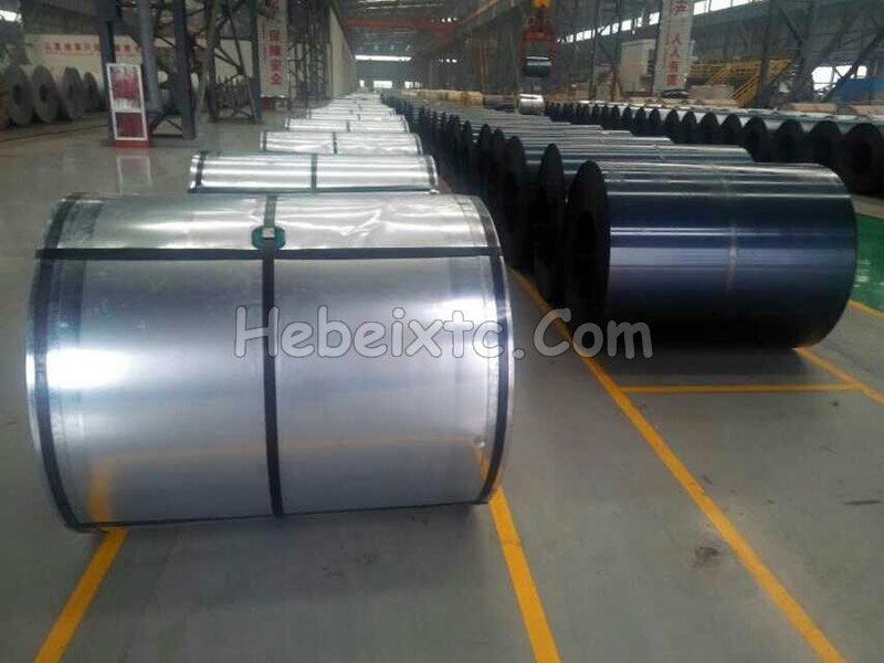 Black steel coil